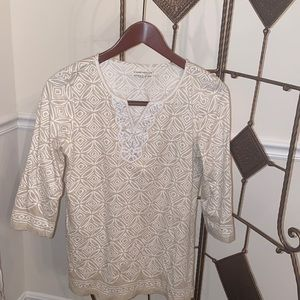 Women's 3/4 sleeve blouse chapter club